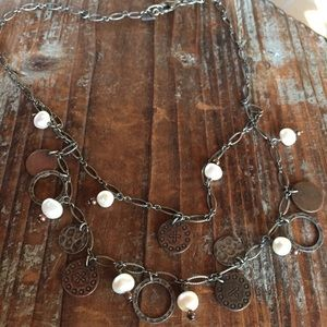 Silpada Sterling silver  charm necklace